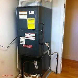 High Efficiency Furnace & Air Conditioner +$1450 in Rebates