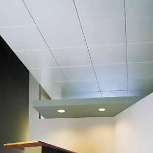 2'x4' vinyl covered ceiling tiles CFIA approved $9.50 each