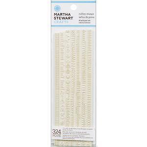 Martha Stewart Rubber Stamps