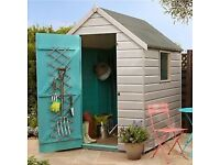 8x8 ft solid shed and base £100