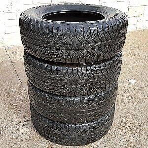 215 70 r16 99h Yokohama Geolander presque neuf 4 pneus été