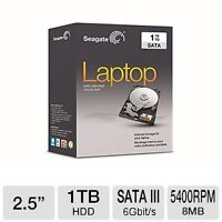 TWO NEW: 1 TB (1000GB) LAPTOP HARD DRIVES