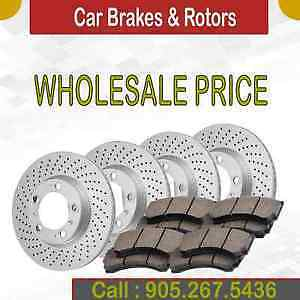 Brake Pads and Rotors Amazing Prices