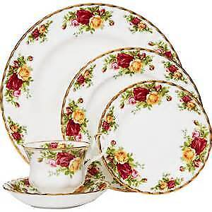 5 pièces - Old country roses - Royal Albert