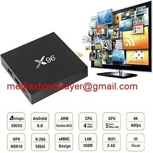 X96 Android 6.0! Android TV Media Box