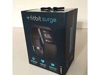 Black Fitbit Surge - Large
