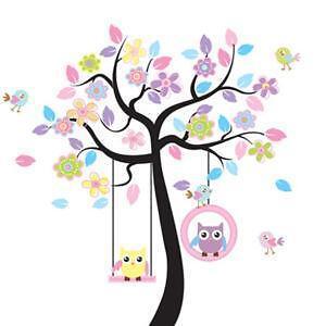 Nursery Wall Tree Decals