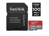 sandisc microsd 64gb ultra