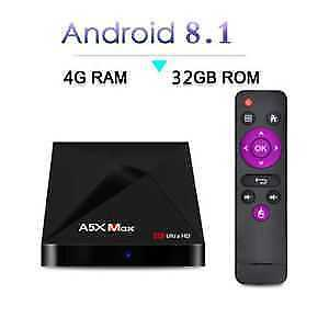WOW ! Boite Android Tv box  Android 8 4GB RAM 6 MOIS DE GARANTIE