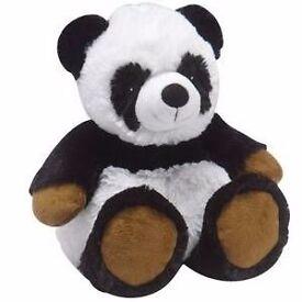 Intelex Cozy Plush Fully Microwavable Toy: Panda Bear