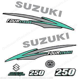 Suzuki outboard decals ebay autos post for Yamaha ox66 225 service manual