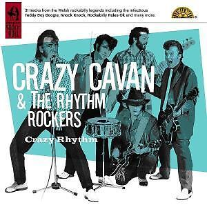 CRAZY CAVAN AND THE RHYTHM ROCKERS-CRAZY RHYTHM-CD ALBU