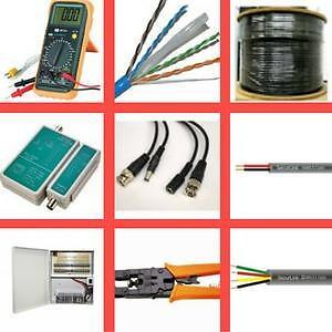 Weekly Promo!   cat5e,cat6e,cat3,quad cable,power cable,coaxial cable,tester,ends,tool,power supply,power