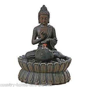 zimmerbrunnen buddha dekoration ebay. Black Bedroom Furniture Sets. Home Design Ideas
