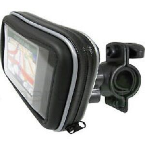 Waterproof GPS case with mount for motorcycle