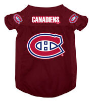 Licenced NHL Montreal Canadiens Jersey for  Dogs[new]