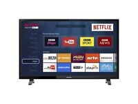 Sharp LC-49CFF5001K 49-Inch SMART TV Full HD LED with Freeview HD - Black [Energy Class A+]