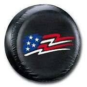 Flag Spare Tire Cover