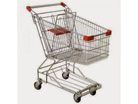 Retail Shop Trolleys Mint Condition Hardly used they are Smaller Than Average Size