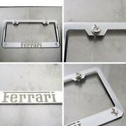 Ferrari License Plate