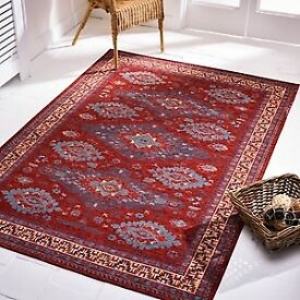 Beautiful Red chenille rugs for Sale, NR6 6GB for collection