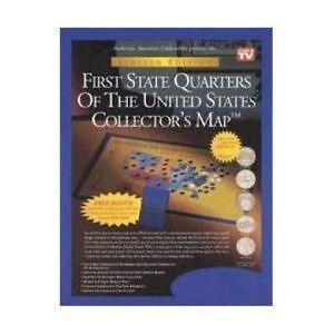 State Quarter Map EBay - Us map for quarters