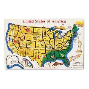 Map puzzle ebay united states map puzzle gumiabroncs Images