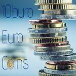 10buro Euro coins