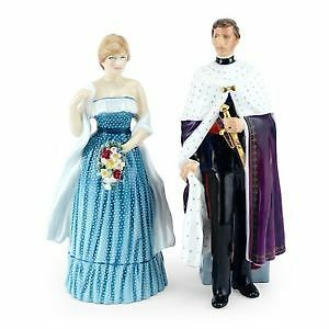Rare Royal Doulton Figurines Prince of Wales, Lady Diana Spencer