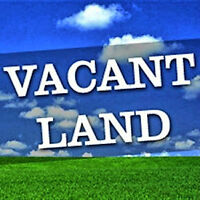 LOT with potential WALK OUT BASEMENT option in LORETTE!