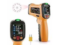 Thermometer/Laser Non Contact Temperature Gun Color Display -58°F to 1472°F