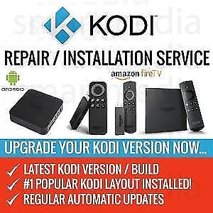Re-paring all KODI boxes ! Apple and Android all movies and tv