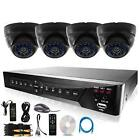 Outdoor Dome Security Camera System