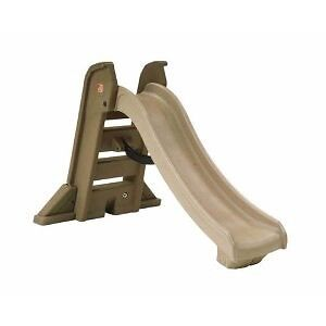NEW STEP 2 Naturally Playful Big Folding Slide & Picnic Table