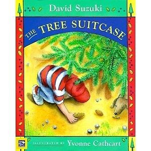 "NEW Hardcover BOOK: ""The Tree Suitcase"" by David Suzuki"