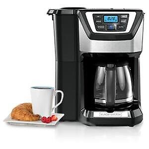 Black & Decker 12 cup coffeemaker- brand new