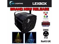 disco lights (lexbox) strobe smoke mashine