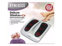 deluxe shiatsu foot masseger