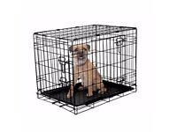 Metal Folding Pet Cage (SMALL)