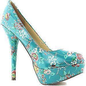 Turquoise Heels Ebay