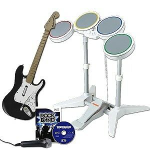 Rock band bundle for wii Peterborough Peterborough Area image 1