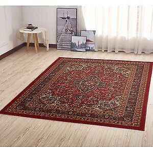 Red Persian style rug