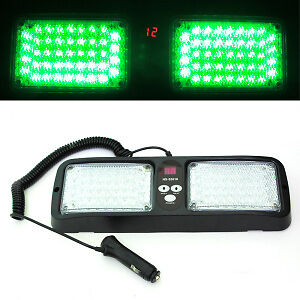 Green Volunteer Firefighter LED strobe warning dash light Peterborough Peterborough Area image 5