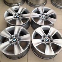 4 x OEM BMW 5 / 6 SERIES F10 , F11 ,F12 RIMS GOOD CONDITION $475