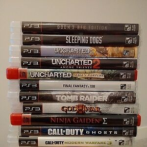 11 PS3 Games in a bundle for $50 (New condition)