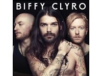 ONE Biffy Clyro Standing Ticket Birmingham Barclaycard Arena 7th December