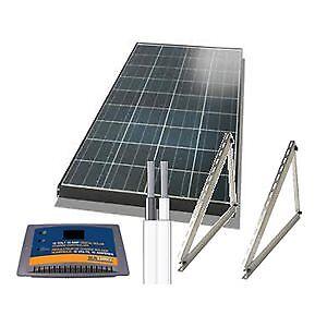Kit solaire pour VR, camping, chalet ou autres