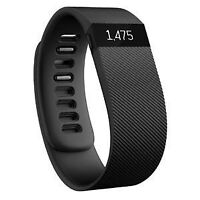 Fitbit charge black size large. Used.