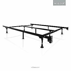 King/Queen metal bed frame (extra  centre supports/heavy duty)