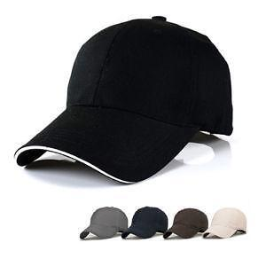 Men s Plain Black Hats baab53d0762